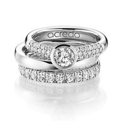 Luxury wedding rings and engagement rings acredo