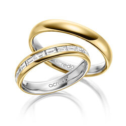 gold 7506002 - Elegant Wedding Rings