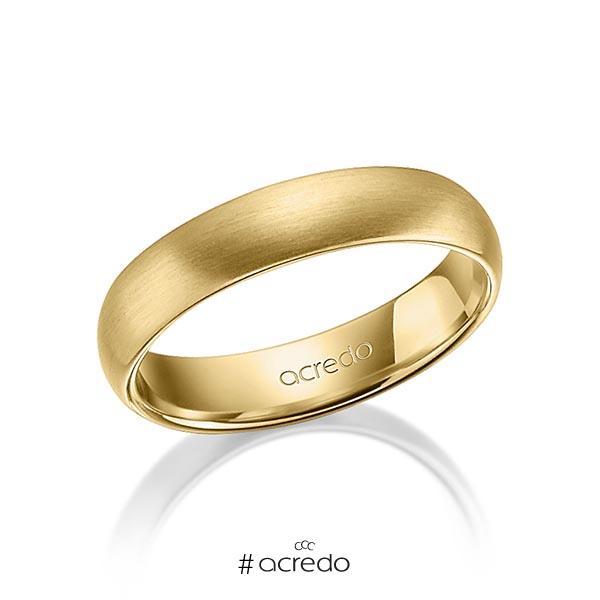 klassischer Trauring/Ehering in Gelbgold 750 von acredo