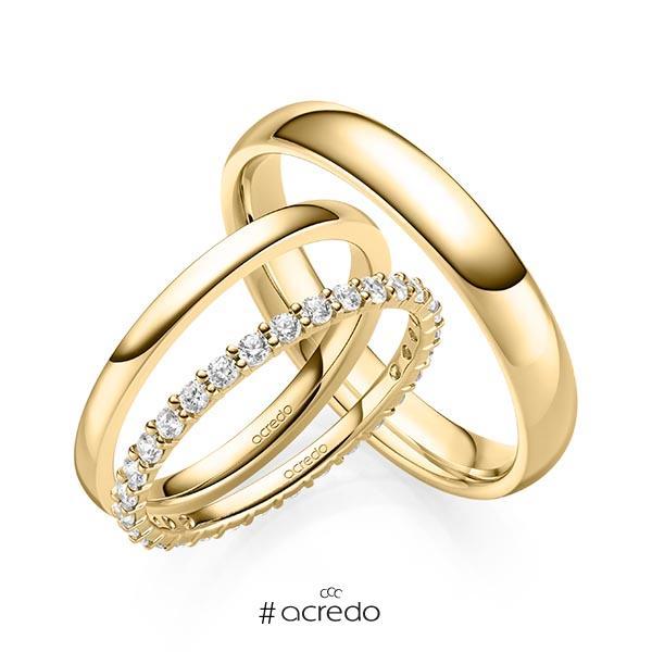 Memoire-Ring Gelbgold 585