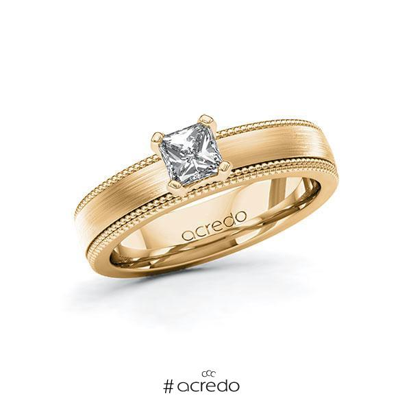 Verlobungsring Diamantring 0,5 ct. G VS Roségold 585