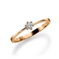 Verlobungsringe Aus Rosegold Mit Diamanten