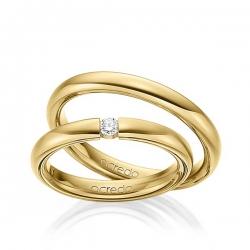 Eheringe gold schlicht  Trauringe & Eheringe aus Gold | faszinierend schön | acredo