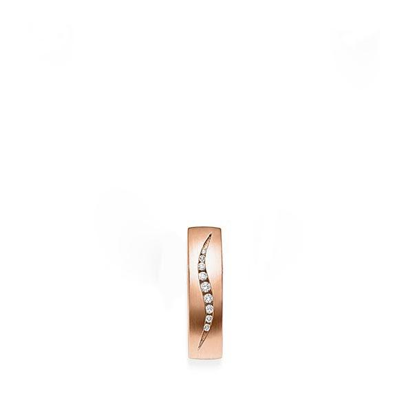 Anhänger Rotgold 585 mit 0,071 ct. tw, si