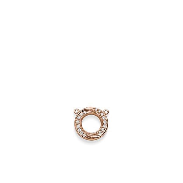Anhänger Rotgold 585 mit 0,112 ct. tw, si