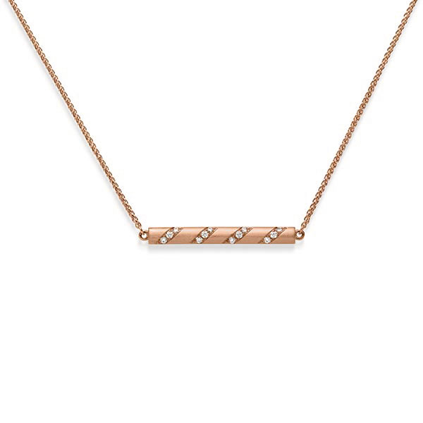 Anhänger Rotgold 585 mit 0,192 ct. tw, si