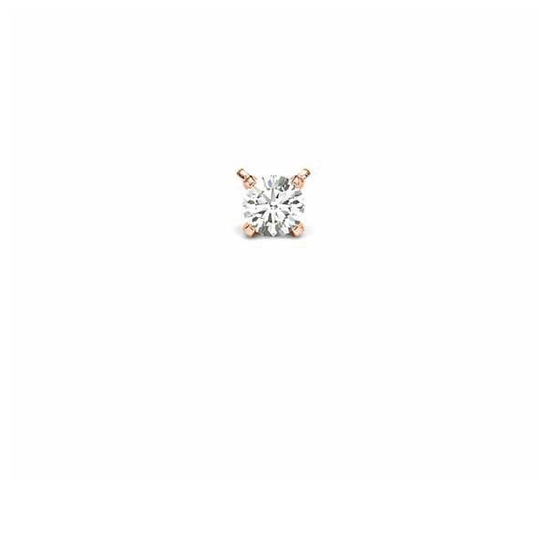 Anhänger Rotgold 585 mit 0,25 ct. tw, si