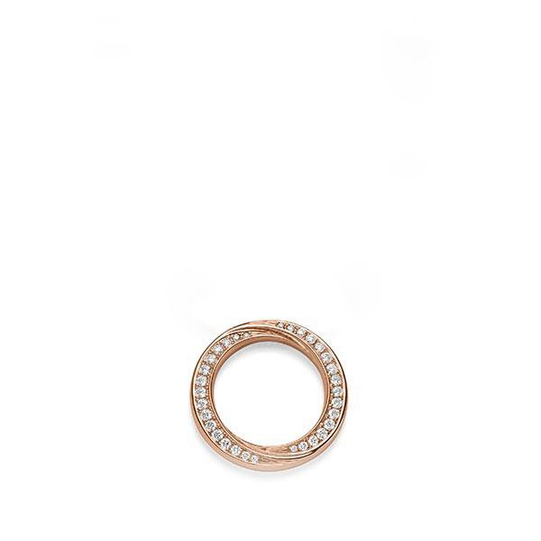Anhänger Rotgold 585 mit 0,52 ct. tw, si