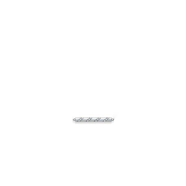 Anhänger Weißgold 585 mit 0,192 ct. tw, si