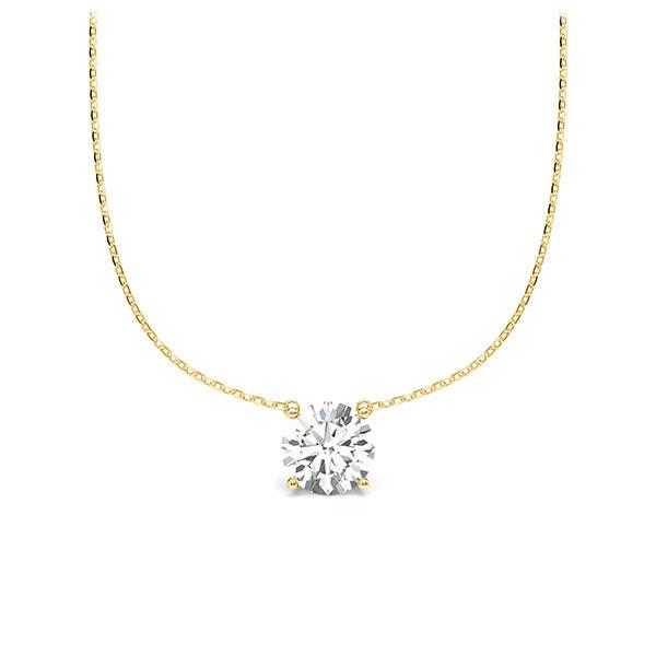 Diamant-Collier Gelbgold 585 mit 0,5 ct. tw, vs Steinberg - Individuals