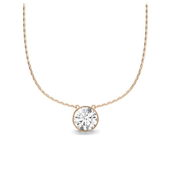 Diamant-Collier Rotgold 585 mit 0,5 ct. tw, vs Steinberg - Individuals