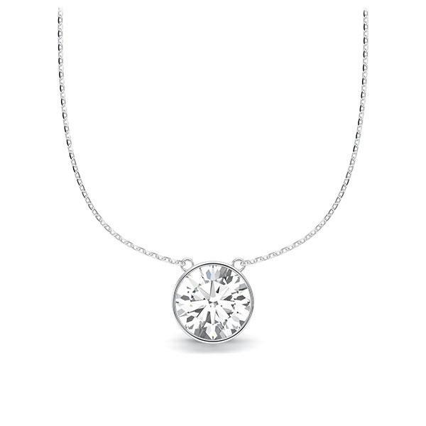 Diamant-Collier Weißgold 585 mit 1 ct. tw, vs Steinberg - Individuals