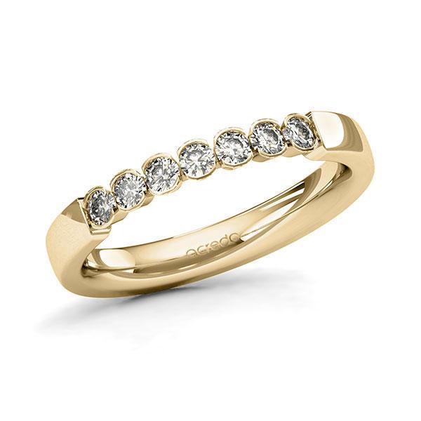 Memoire-Ring Gelbgold 585 mit 0,35 ct. tw, si