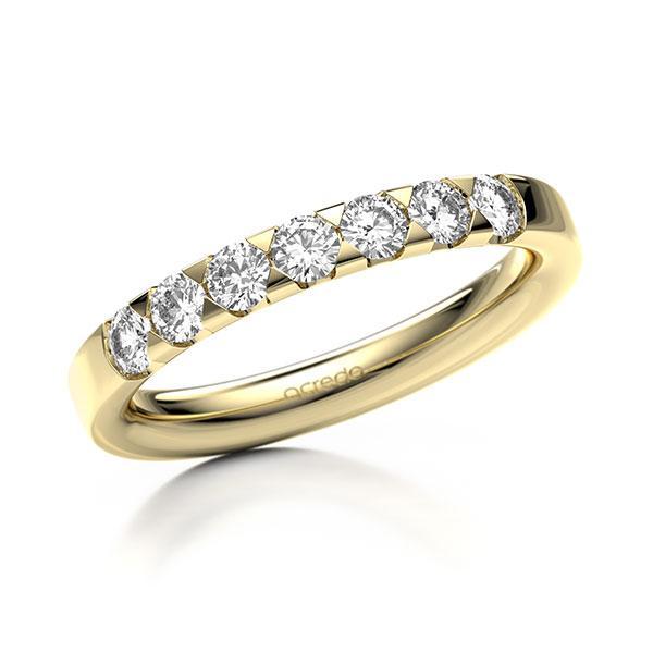 Memoire-Ring Gelbgold 585 mit 0,56 ct. tw, si
