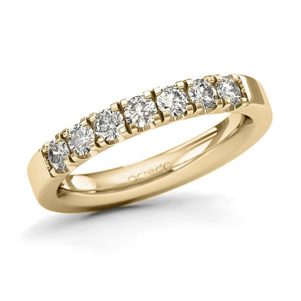 Memoire-Ring Gelbgold 585 mit 0,7 ct. tw, si