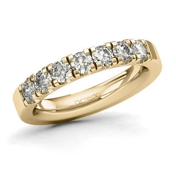 Memoire-Ring Gelbgold 585 mit 1,05 ct. tw, si