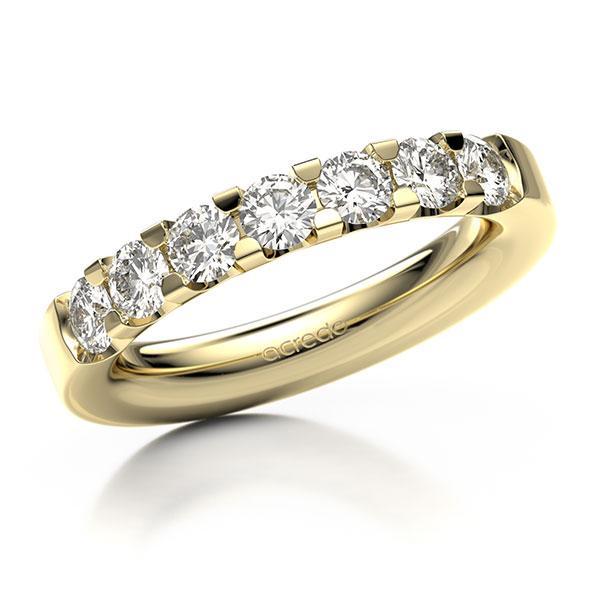 Memoire-Ring Gelbgold 585 mit 1,05 ct. tw, vs