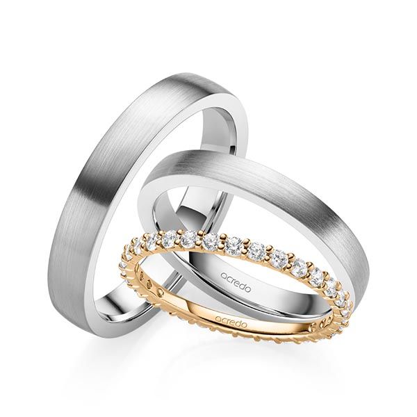 Memoire-Ring Roségold 585