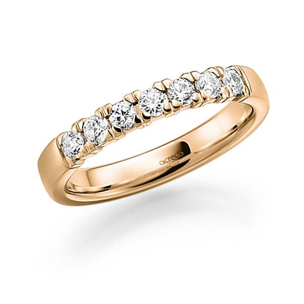Memoire-Ring Roségold 585 mit 0,35 ct. tw, vs