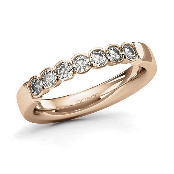 Memoire-Ring Roségold 585 mit 0,56 ct. tw, si