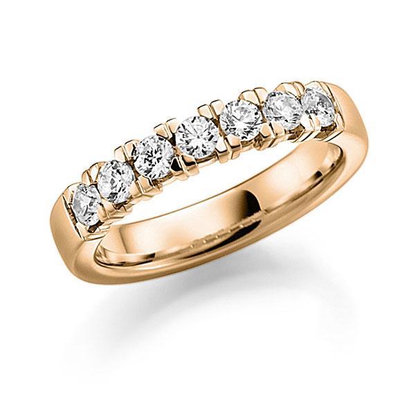 Memoire-Ring Roségold 585 mit 0,63 ct. tw, vs