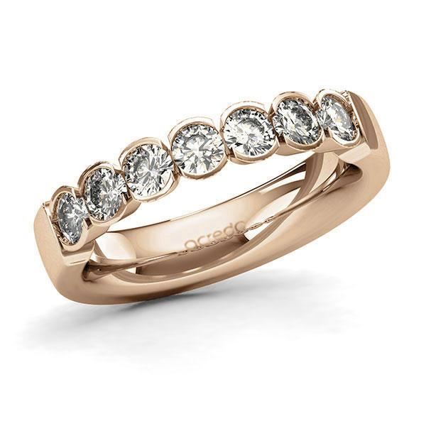 Memoire-Ring Roségold 585 mit 1,05 ct. tw, si