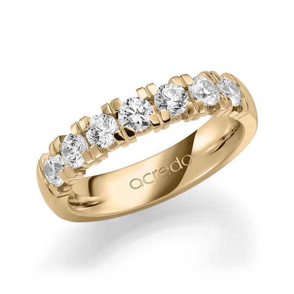 Memoire-Ring Roségold 585 mit 1,05 ct. tw, vs