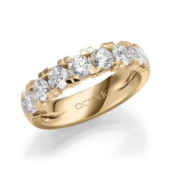 Memoire-Ring Roségold 585 mit 1,75 ct. tw, vs