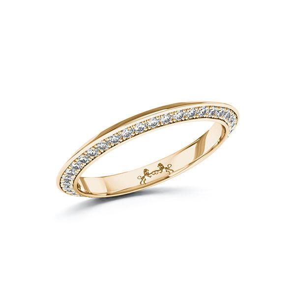 Memoire-Ring Roségold 585