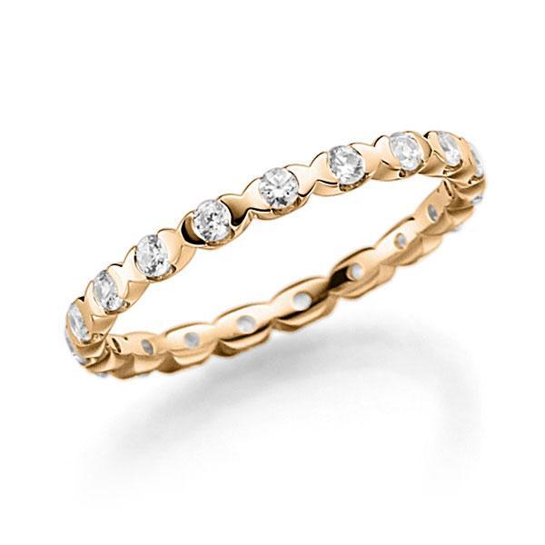 Memoire-Ring Roségold 750