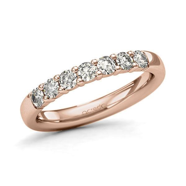 Memoire-Ring Rotgold 585 mit 0,56 ct. tw, si