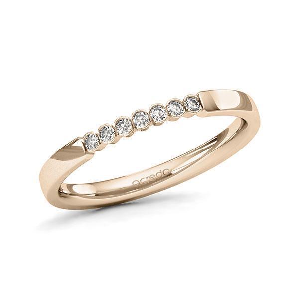 Memoire-Ring Signature Gold 585 mit 0,105 ct. tw, si