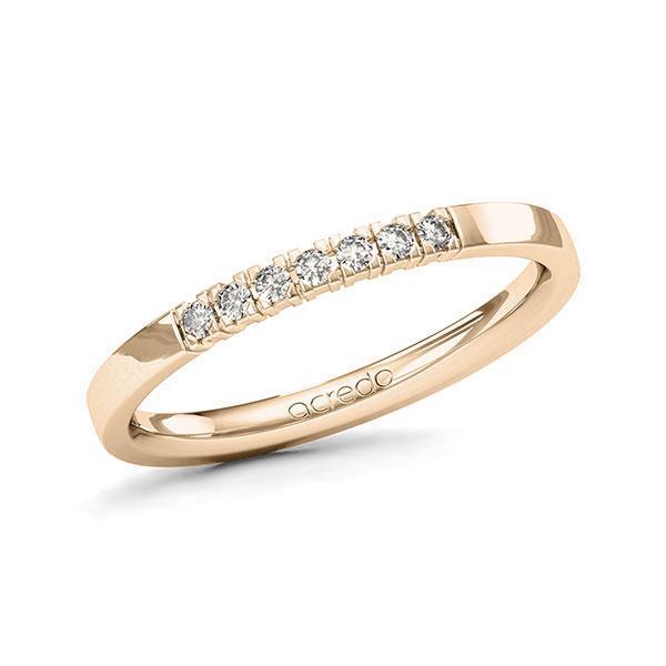Memoire-Ring Signature Gold 585 mit 0,105 ct. tw, vs