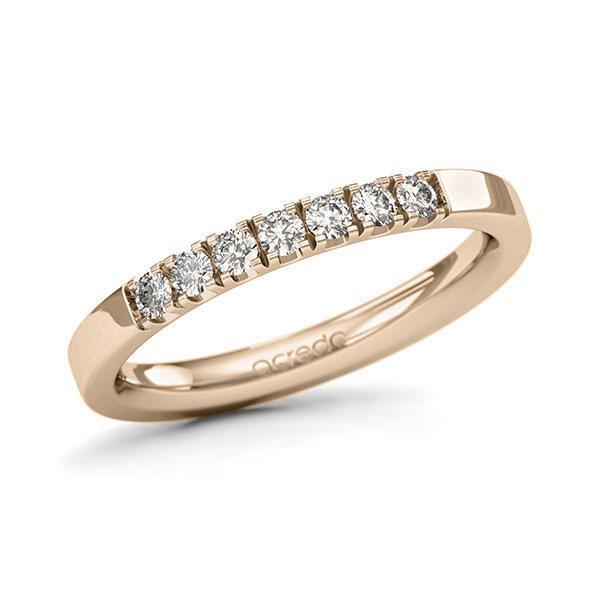 Memoire-Ring Signature Gold 585 mit 0,28 ct. tw, si