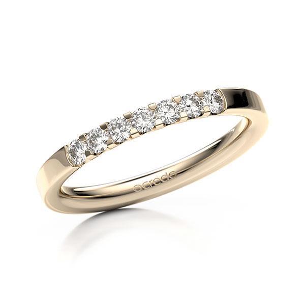 Memoire-Ring Signature Gold 585 mit 0,28 ct. tw, vs