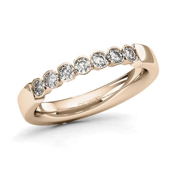 Memoire-Ring Signature Gold 585 mit 0,42 ct. tw, si