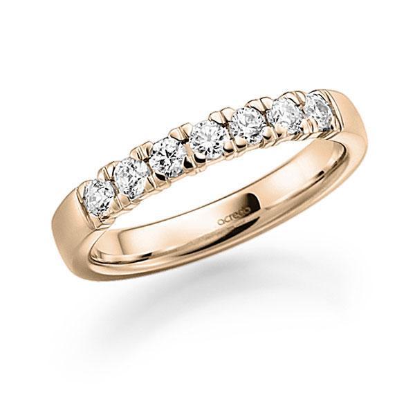 Memoire-Ring Signature Gold 585 mit 0,42 ct. tw, vs