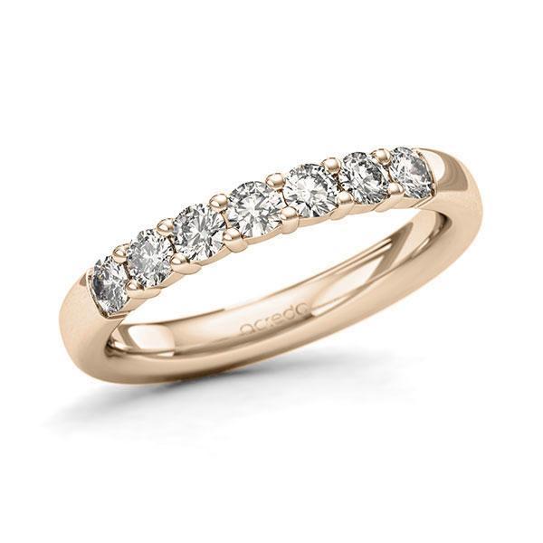 Memoire-Ring Signature Gold 585 mit 0,49 ct. tw, si