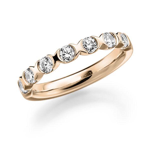 Memoire-Ring Signature Gold 585 mit 0,63 ct. tw, vs