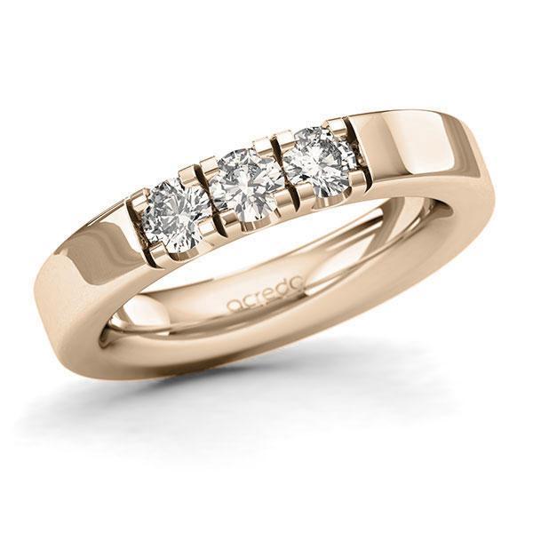Memoire-Ring Signature Gold 585 mit 0,6 ct. tw, si