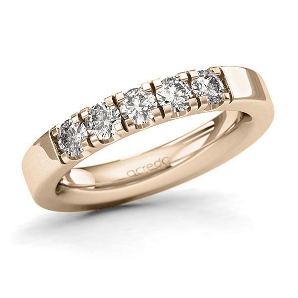 Memoire-Ring Signature Gold 585 mit 0,75 ct. tw, si