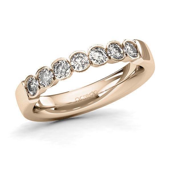 Memoire-Ring Signature Gold 585 mit 0,7 ct. tw, si