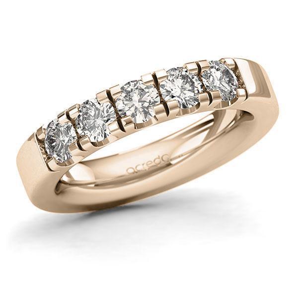 Memoire-Ring Signature Gold 585 mit 1,25 ct. tw, si