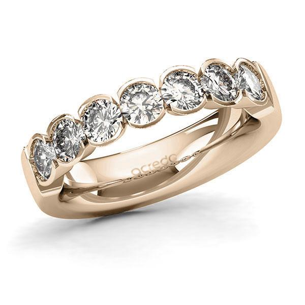 Memoire-Ring Signature Gold 585 mit 1,4 ct. tw, si