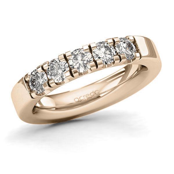 Memoire-Ring Signature Gold 585 mit 1 ct. tw, si