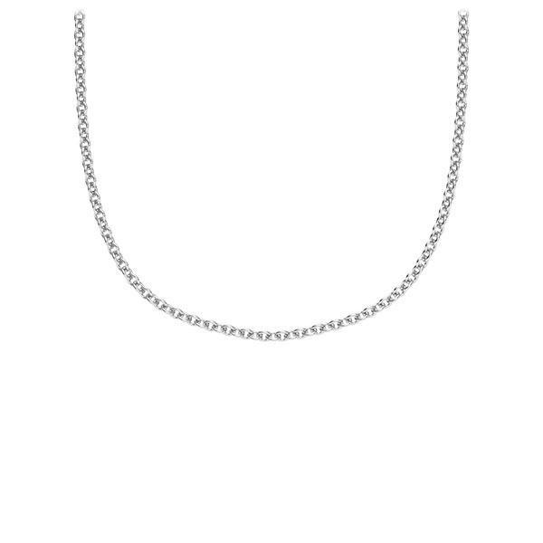 Kette (ohne Steinbesatz) Weißgold 585