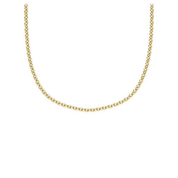 Kette (ohne Steinbesatz) Gelbgold 585