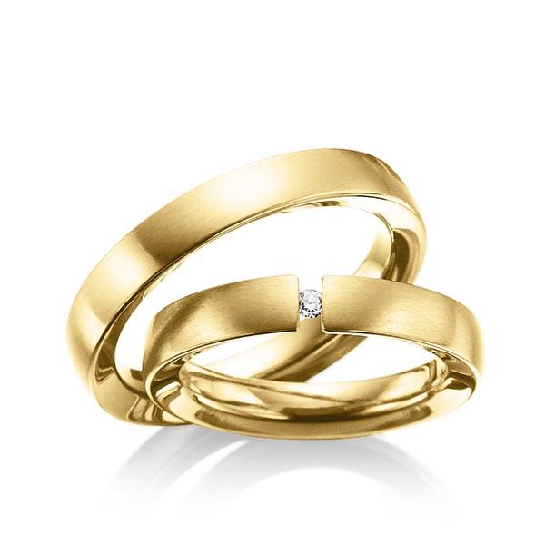 Trauringe Edelstahl gold beschichtet, Edelstahl gold beschichtet 0 ...