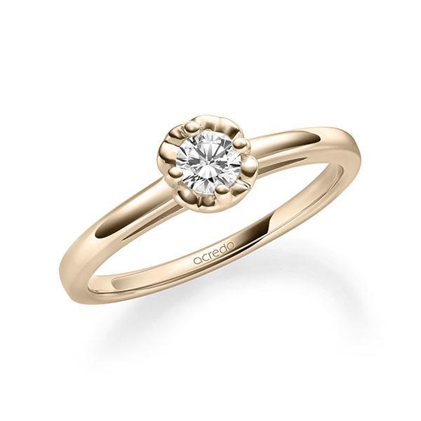 Verlobungsring Diamantring 0,25 ct. tw, si Signature Gold 585