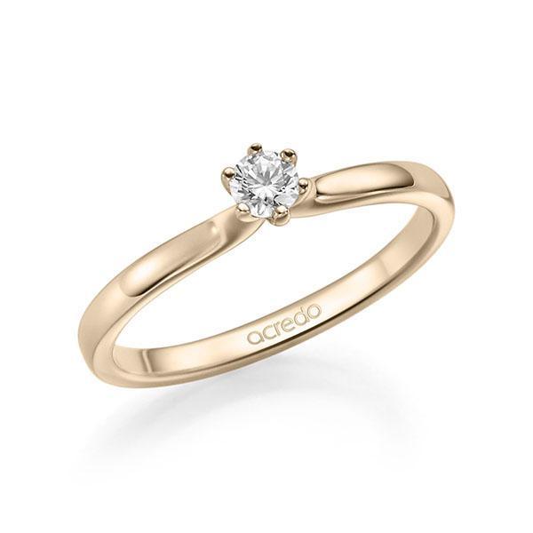 Verlobungsring Diamantring 0,2 ct. tw, si Signature Gold 585